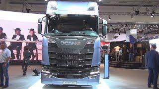 Scania S 730 A4x2NB Tractor Truck (2017) Exterior and Interior