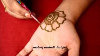 Easy Arabic Mehndi Designs For HandsSimple Mehndi DesignsMehndi Designs