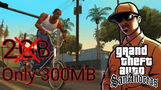 Download GTA San Andreas Lite Only 200 MB Any Android Full Step In Hindi