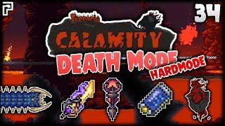 Cell Phone & The Brimstone Elemental! | Terraria Calamity Mod Death Mode  Lets Play [Episode 34]