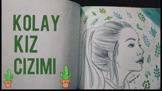скачать 5 Dakikada Basit Kiz çizimi Simple Girl Drawing смотреть