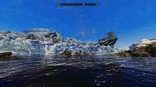 Cathedral Weathers Skyrim Special Edition + ENB