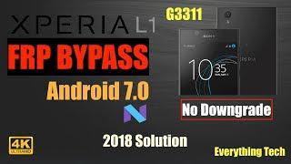 Sony Xperia L1 FRP Bypass (Sep 2018) | G3311 | Easy Guide | Android 7 0