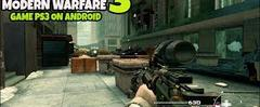 Скачать Game Android Offline Call of Duty - Modern Warfare 3 PS3