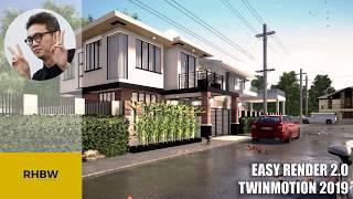 Easy Render 2 0 with Twinmotion 2019