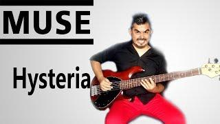 Hysteria - Muse - Funny Bass Cover!!, Preset Guitar Rig 5!!