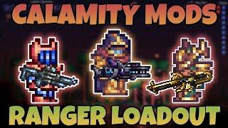 Best Ranger Loadouts for Calamity Mod! ||Terraria Class Setup Guide||