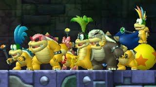 Fighting all the Koopalings at the same time [+ Download] (New Super Mario  Bros  Wii Hacking)