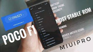 Most Stable ROM for POCO F1 | Dark Mode | Latest MIUI Pro 10 | Full Review  | MIUI V9 7 11