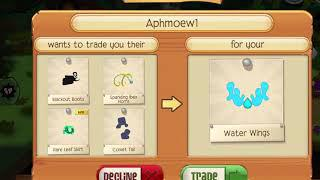 Water wings trade attempts :)