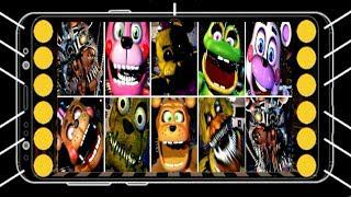 ALL ANDROID JUMPSCARES - Ultimate Custom Night