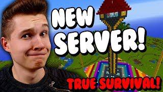 NEW SERVER! - True Survival Minecraft - Semi-Anarchy - Come & Join in!