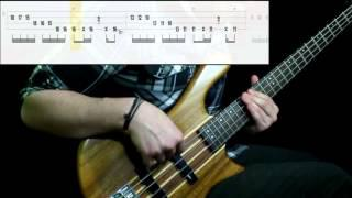Red Hot Chili Peppers - Dark Necessities (Bass Cover) (Play Along Tabs In  Video)