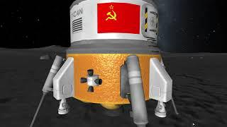 Kerbal Space Program: Soviet Moon Mission - Making History DLC/Expansion
