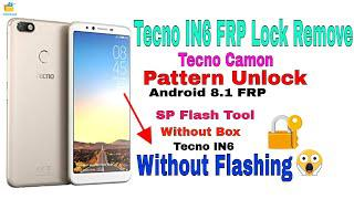 Tecno IN6 FRP Lock Remove | Pin Lock | IN6 Hard Reset | 100% Done