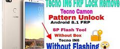 Скачать Tecno IN6 FRP Bypass Remove With SP Flash Tool 100% Done