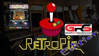 HyperPie 2 Demo on Raspberry Pi 3 B+ on Bartop Arcade Deluxe from GRS