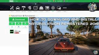 How to download and install (NaturalVision Remastered) In GTA 5 Online  Version - Complete Comparison