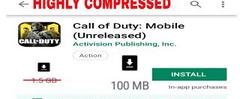 Скачать how to download call of duty android 100 mb highly