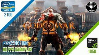 God Of War 2 (PCSX2 Setting) - Gameplay i3 2100 + GTX 1050
