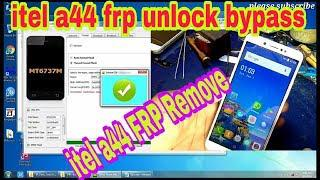 Itel A44 Gmail Bypass Google lock Reset Frp Remove  100% working