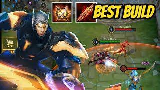 NAKROTH BEST BUILD | NEW EVO SKIN Cybercore HYPE | Arena of Valor