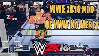 Tutorial: How to Install WWF No Mercy 2k16 Mods on android