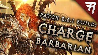 Diablo 3 2 6 4 Barbarian Build: CHARGE! GR 121+ and Speed (Guide, Season 16)