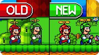 Super Mario Bros  X (SMBX 1 4 4) - NEW MARIO AND LUIGI SPRITES (SM2DU  Style!)