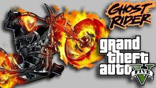 GTA 5 - GHOST RIDER Mod in Hindi - Burning Full Lost Santos (Grand Theft  Auto 5)