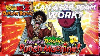 CAN YOU NUKE WITH A F2P TEAM? Dokkan Punch Machine Event | DBZ Dokkan Battle