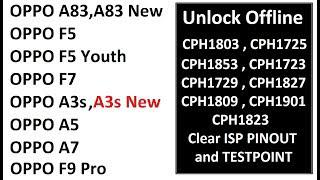Oppo Unlock All Model Testpoint and ISP Pinout | Now its Easy to Unlock  Offline | By Sagar Mobile