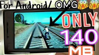 140MB_GTA SAN ANDREAS ULTRA HIGHLY COMPRESSED FOR ANDROID