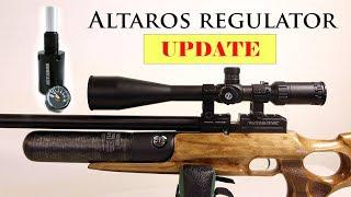 Altaros regulator Install on Kral Puncher jumbo - UPDATE at the range and  shot string
