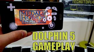 Medal of Honor Rising Sun gameplay Dolphin 5 gamecube emulator on Android  smartphone Oneplus 3t
