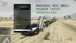 GTA V PC Online 1 46 Wardens Mod Menu - PAID WARDENS HACK Undetected  (release)