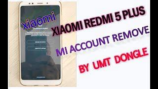 mi 5 plus mi account remove by umt dongle - Shahin Vai Official