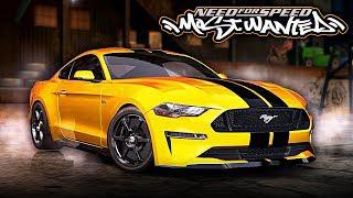 Nfs Most Wanted  Ford Mustang Gt Mod Gameplay P
