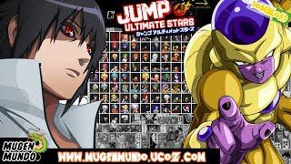 скачать Jump Ultimate Stars Reborn V3 Full Game Download Mugen
