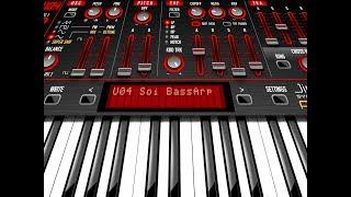 POISON 202 Synth - 100% FREE Preset Bank By Sound Of Izrael - iPad Demo