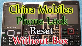 Kechaoda K28 Phone lock Remove Without Any Box 100% Done