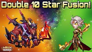 Idle Heroes (S) - Double 10 Star Fusion, Kroos and Heart Watcher!