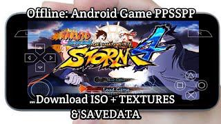 Naruto Shippuden Ultimate Ninja Storm 4 Mod PPSSPP Gameplay + Download ISO  & TEXTURES