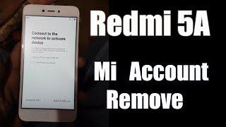 Redmi 5A mi Account Unlock Edl Mode Sucessfully 2018 100% Easy