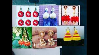 97ac93b81 Different types of earring designs l earrings l simple and easy earrings  images l earrings models