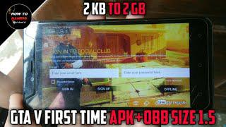 ||FIRST TIME APK+OBB||HOW TO DOWNLOAD GTA 5 GAME ON  ANDROID||REAL||APK+DATA||HIGHLY COMPRESSED||
