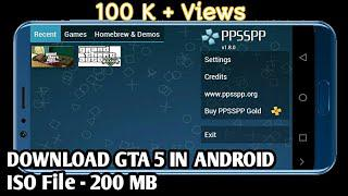 gta 5 file for ppsspp android
