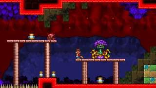 Super Mario Bros  X (SMBX) Custom Level - Red Overgrown Dungeon