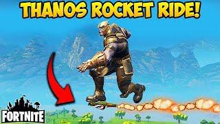 Skachat Can You Rocket Ride Thanos Fortnite Funny Fails And Wtf