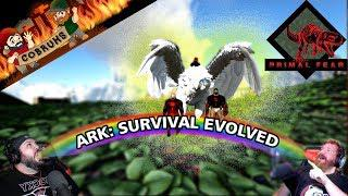 ARK   PRIMAL FEAR MOD - PERFECT ICE GRIFFIN TAME!